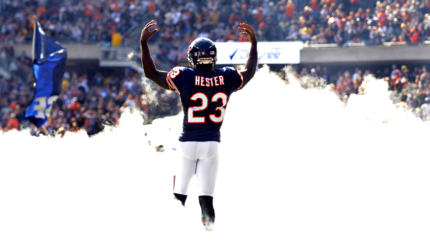 Chicago Bear Devin Hester